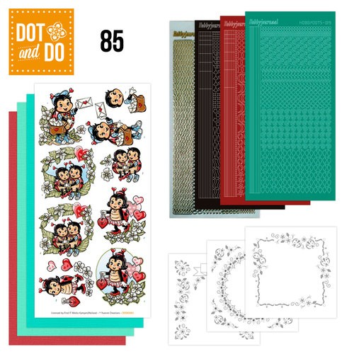Dot and Do  setje 85 lieveheersbeestjes