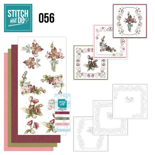 Stitch and Do 56 Fantastische Bloemen