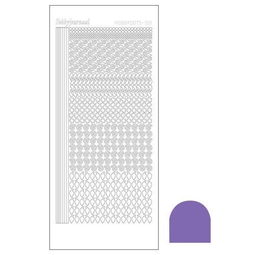 hobbysticker dots serie 20 Purple