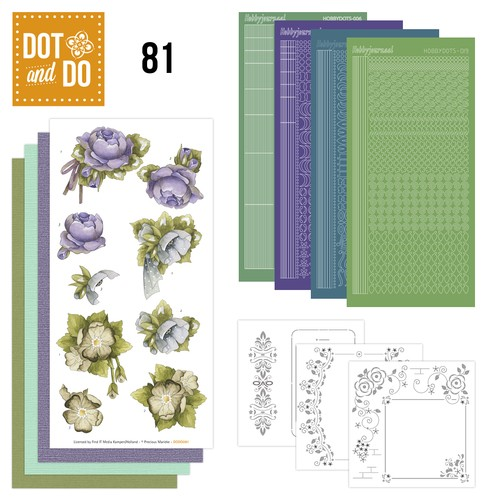 Dot and Do set Flower corner 81