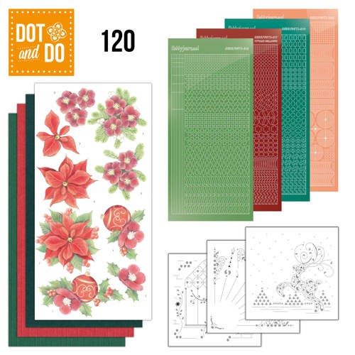 Dot and Do 120 Kerstbloemen