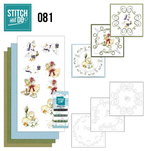 Stitch and Do Voorjaarsdieren 81