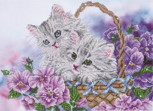 Diamond Dotz Kitty Basket