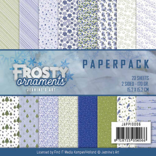 Paperpack - Jeanine's Art - Frosty Ornaments