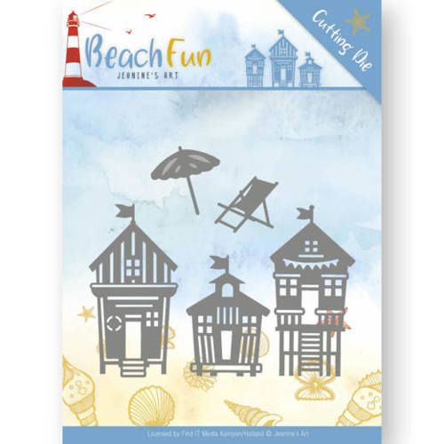 Dies - Jeanine's Art - Beach Fun - Beach Houses