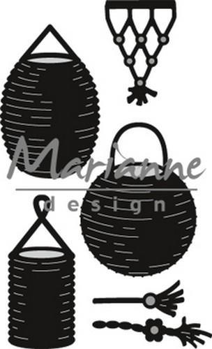 Marianne D Craftable Lampion set CR1443 49x80mm (07-18)