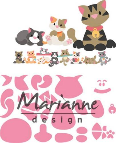 Marianne D Collectable Eline's kitten COL1454 118x91 mm (06-18)