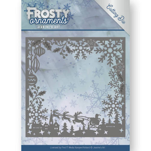 Dies - Jeanine's Art - Frosty Ornaments - Frosty Frame