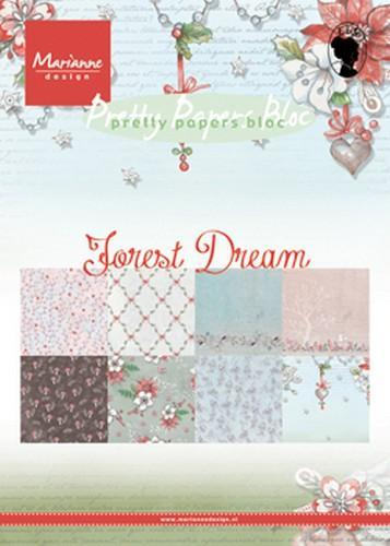 Marianne D Paper pad Forest Dream A5 PK9158 A5 (08-18)