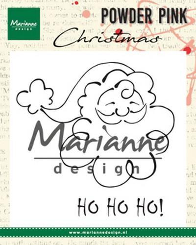 Marianne D Clear stamp kerstman PP2807 10x12,5cm (08-18)