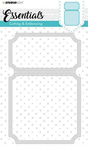 Studio Light Embossing Die Cut Stencil Essentials Nr.116 STENCILSL116 (09-18)