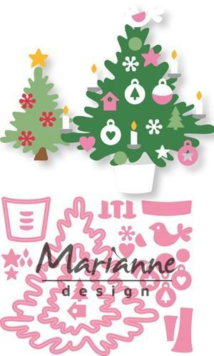 Marianne D Collectable Eline's Kerstboom COL1459 15 x 21 cm (09-18)