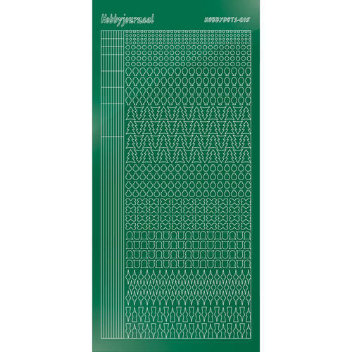 Hobbydots sticker - Mirror Green