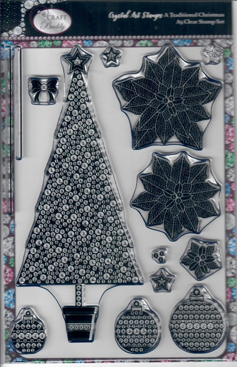 Crystal Art Stamps Kerstboom