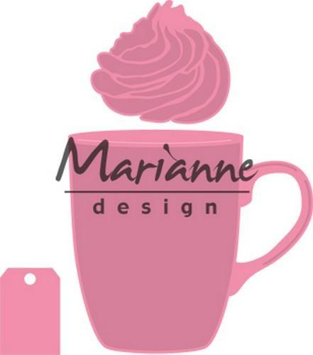 Marianne D Collectable mok Hot chocolate (COL 1366 for free) COL1462107 x 98 mm - 61 x 54 mm (10-18)