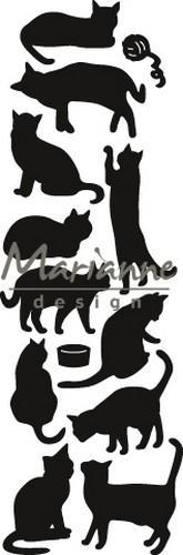 Marianne D Craftable Punch die Cats CR145127 x 82 mm (10-18)