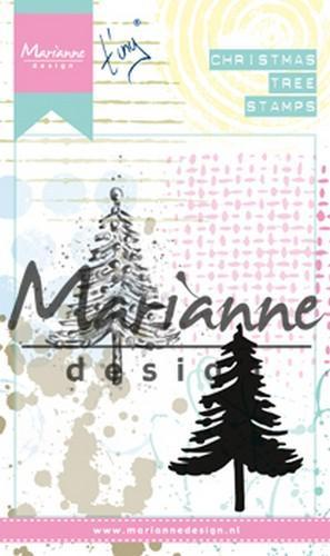 Marianne D Cling Stamps Tiny's kerstboom MM162590 x 110 mm (10-18)