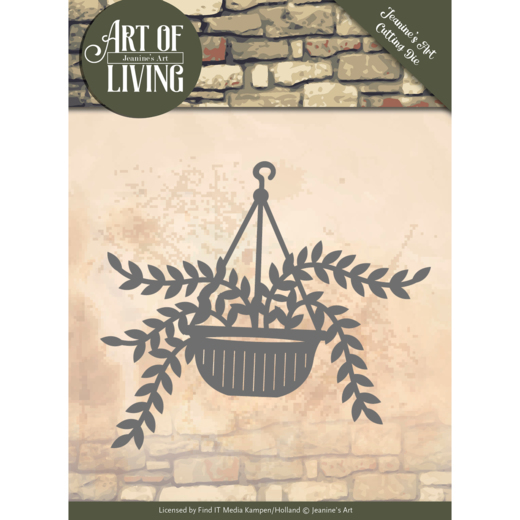 Dies - Jeanine's Art - Art of Living - Hanging Plant
