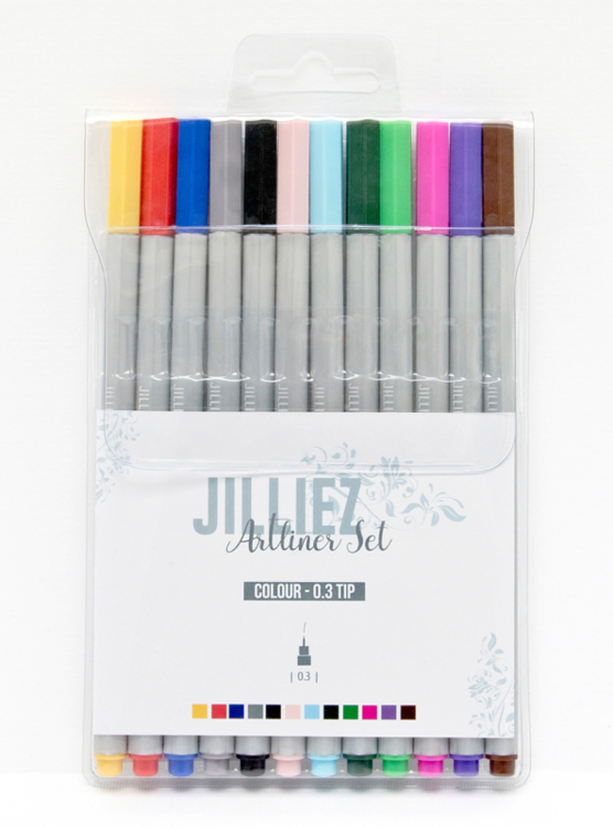 Jilliez Artliner set Colour