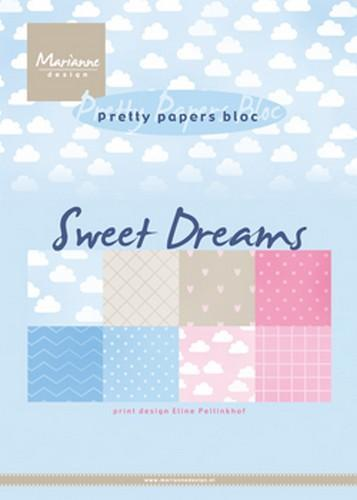 Marianne D Paperpad Eline's Sweet dreams A5 PB7055 (01-19)
