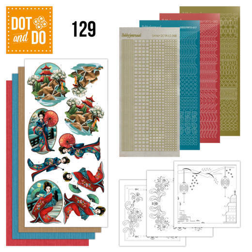 Dot and Do 129 - Amy Design - Oriental