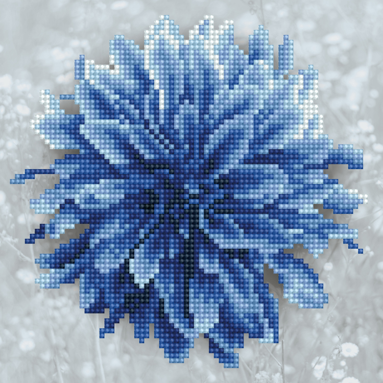 Diamond kits Blue Dahlia
