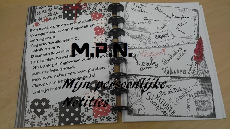 Workshop M.P.N. starters. Dinsdag 16 april middag workshop.