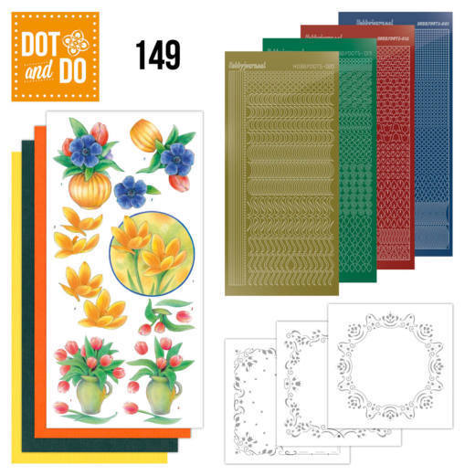 Dot and Do 149 Bouquet of flowers