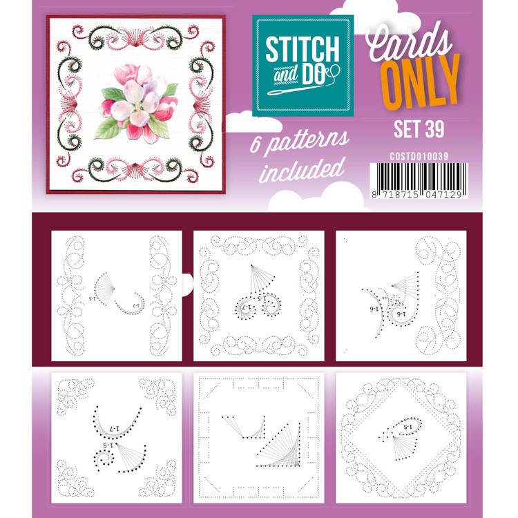 Cards only Stitch 39