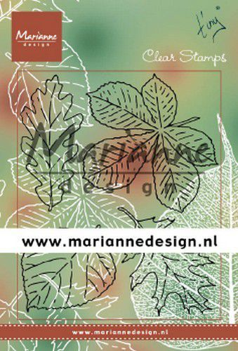 Marianne D Clear Stamps Tiny's bladeren set TC0876 133x51,5mm (09-19)