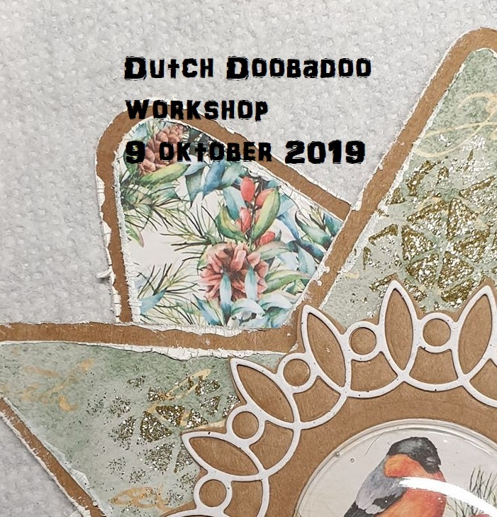 Workshop Dutch Doobadoo 14.00 uur