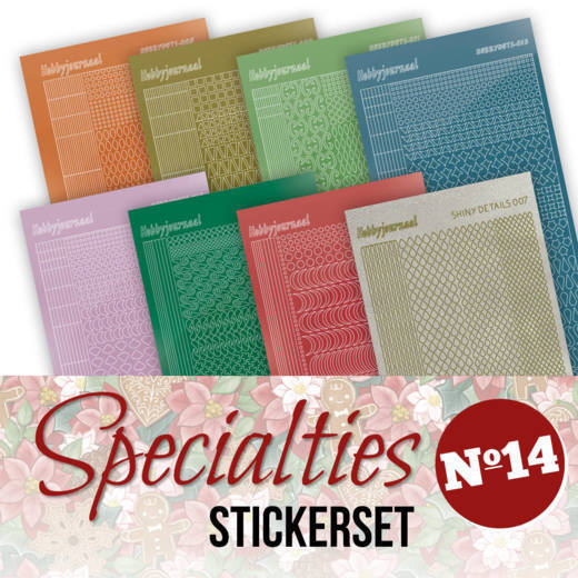 Specialties 14 Stickerset
