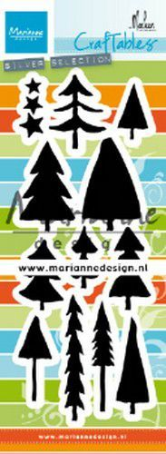 Marianne D Craftable bomen by Marleen CR1483 64mm, 30mm (10-19)