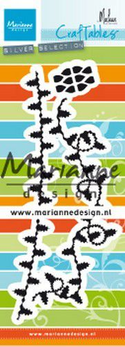 Marianne D Craftable Christmas kerstlampjes by Marleen CR1486 80x220 mm (11-19)