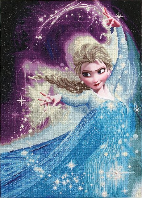 Elsa Magic Diamond Kit Disney serie