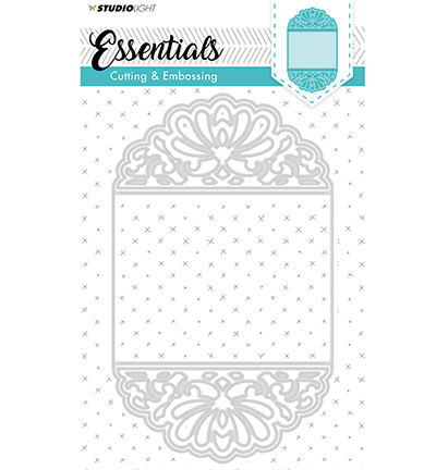 Cutting and Embossing Die Cut, Essentials nr. 196