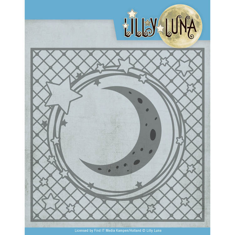 Snijmal- Lilly Luna - Stars and Moon Frame