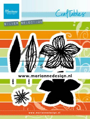 Marianne D Craftable open bloemen CR1493 55x45 mm (01-20)