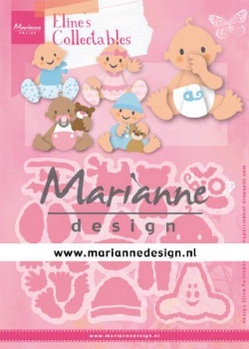 Marianne D Collectable Eline's baby's COL1479 112x97,5mm (03-20)