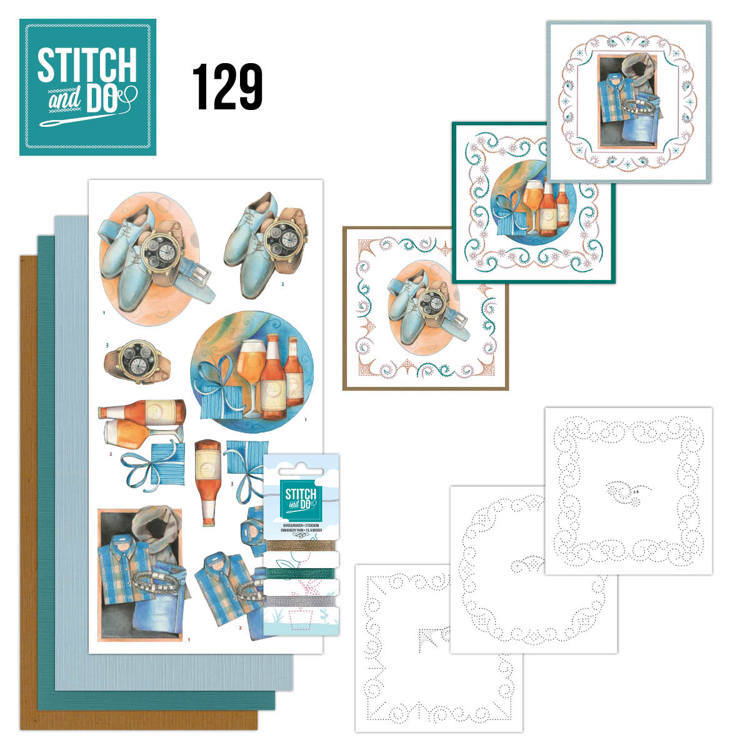 Stitch and Do 129 - Jeanine's Art - Gifts for Men
