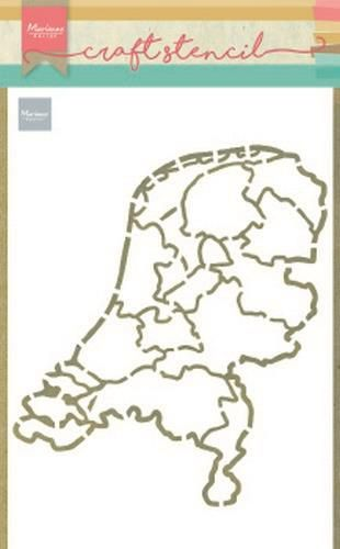 Marianne D Craft Stencil Nederland PS8059 210x149mm (04-20)