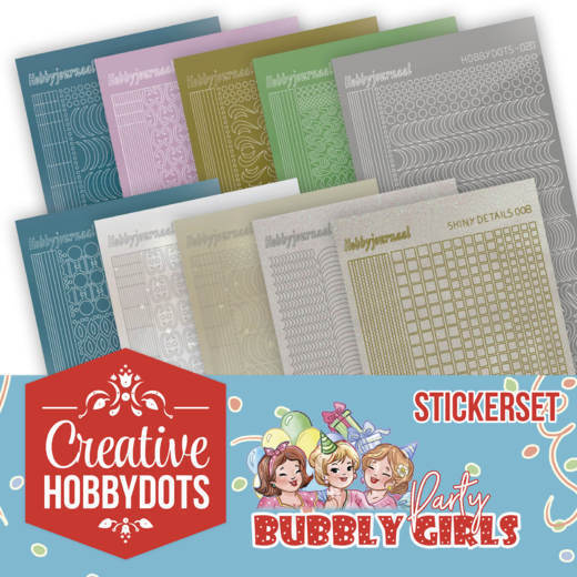 Creative Hobbydots 1 - Sticker Set