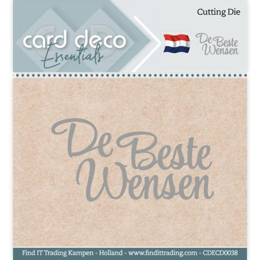 CDECD0038 Card Deco Essentials - Cutting Dies - De Beste Wensen
