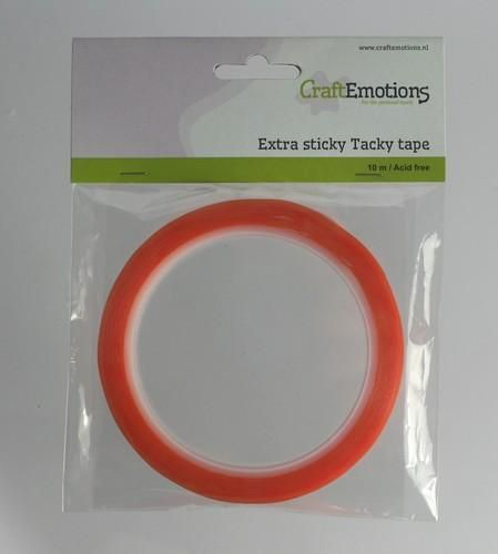 CraftEmotions Extra sticky tape 3 mm 10 MT  1 RL 3.3183