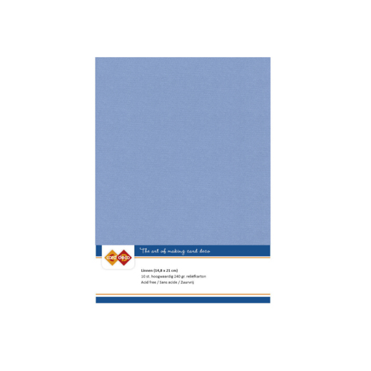 Linen Cardstock - A5 - Stone