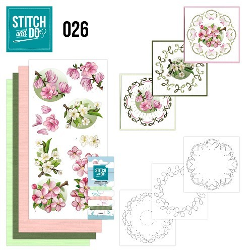 Stitch and Do 26 Spring  flowers
