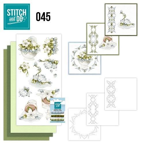 Stitch and Do 45 Winterflowers