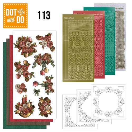 Dots and Do christmas flower 113